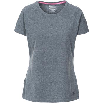 Abbigliamento Donna T-shirt maniche corte Trespass Beinta Nero Screziato