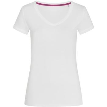 Abbigliamento Donna T-shirt maniche corte Stedman Stars Megan Bianco
