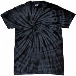 Abbigliamento Unisex bambino T-shirt maniche corte Colortone Spider Nero