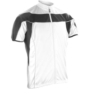 Abbigliamento Uomo Felpe in pile Spiro S188M Bianco/Nero