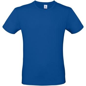 Abbigliamento Uomo T-shirt maniche corte B And C TU01T Blu reale