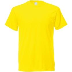Abbigliamento Uomo T-shirt maniche corte Universal Textiles 61082 Giallo brillante
