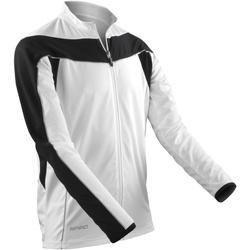 Abbigliamento Uomo Giacche sportive Spiro S255M Bianco/Nero