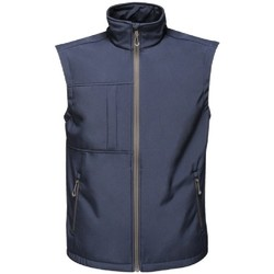 Abbigliamento Uomo Gilet / Cardigan Regatta TRA848 Navy/grigio scuro
