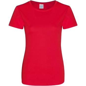 Abbigliamento Donna T-shirt maniche corte Awdis JC025 Rosso fuoco