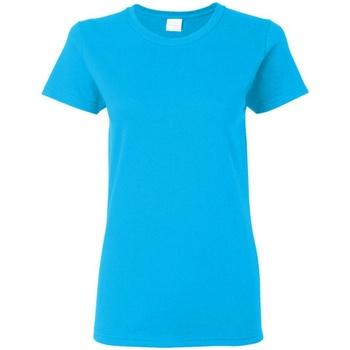 Abbigliamento Donna T-shirt maniche corte Gildan Missy Fit Zaffiro