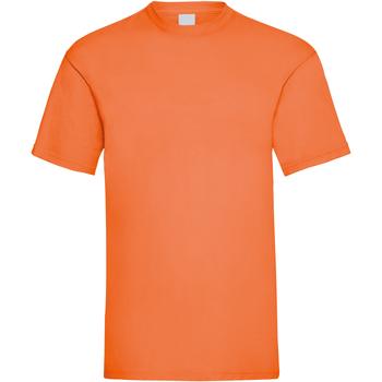 Abbigliamento Uomo T-shirt maniche corte Universal Textiles 61036 Arancione brillante
