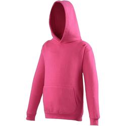 Abbigliamento Unisex bambino Felpe Awdis JH01J Rosa acceso
