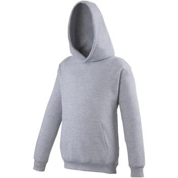 Abbigliamento Unisex bambino Felpe Awdis JH01J Erica grigia