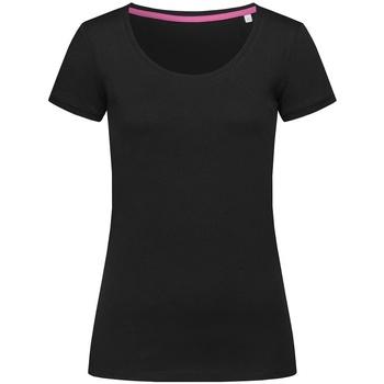 Abbigliamento Donna T-shirt maniche corte Stedman Stars  Nero