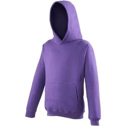 Abbigliamento Unisex bambino Felpe Awdis JH01J Viola