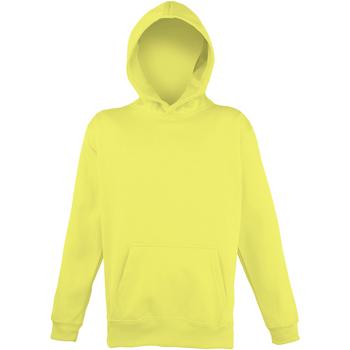 Abbigliamento Unisex bambino Felpe Awdis JH04J Giallo elettrico