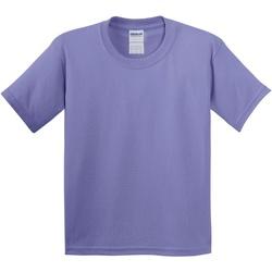 Abbigliamento Unisex bambino T-shirt maniche corte Gildan 5000B Violetta