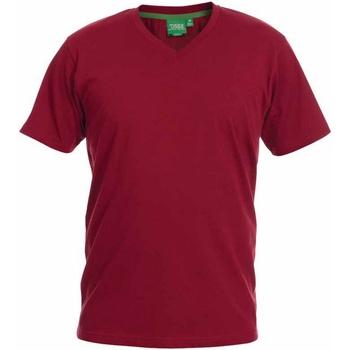 Abbigliamento Uomo T-shirt maniche corte Duke  Rosso