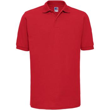Abbigliamento Uomo Polo maniche corte Russell Ripple Rosso acceso