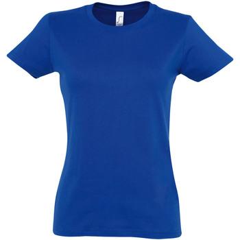 Abbigliamento Donna T-shirt maniche corte Sols 11502 Blu reale