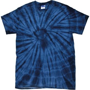 Abbigliamento T-shirt maniche corte Colortone Tonal Blu