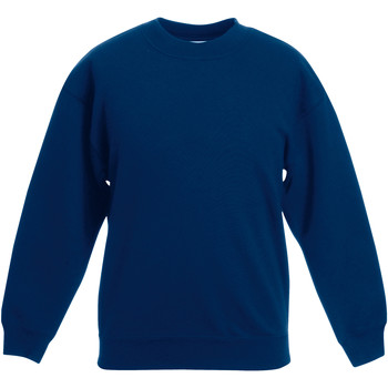 Abbigliamento Unisex bambino Felpe Fruit Of The Loom Classic Blu navy
