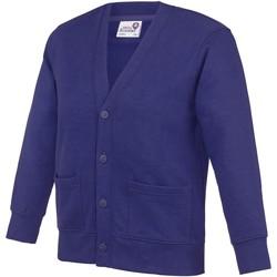 Abbigliamento Unisex bambino Gilet / Cardigan Awdis  Viola