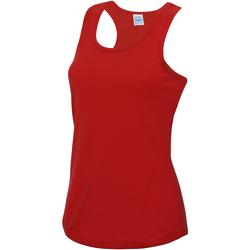 Abbigliamento Donna Top / T-shirt senza maniche Awdis JC015 Rosso fuoco
