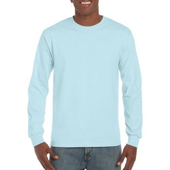 Abbigliamento Uomo T-shirts a maniche lunghe Gildan Hammer Blu