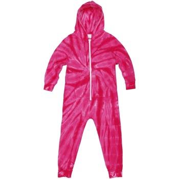 Abbigliamento Unisex bambino Pigiami / camicie da notte Colortone Die Tye Rosa
