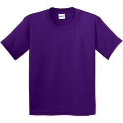 Abbigliamento Unisex bambino T-shirt maniche corte Gildan 64000B Viola
