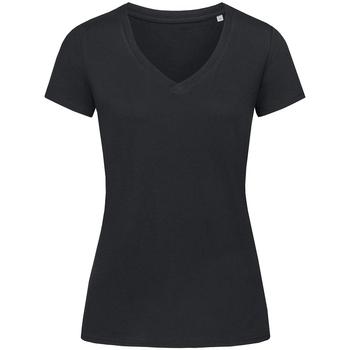 Abbigliamento Donna T-shirt maniche corte Stedman Stars Janet Nero