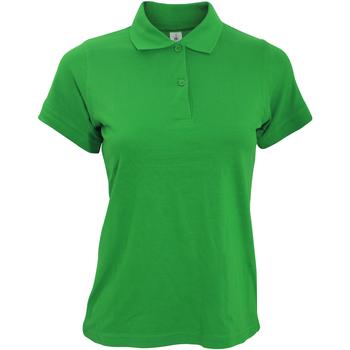 Abbigliamento Donna Polo maniche corte B And C PW455 Verde kelly