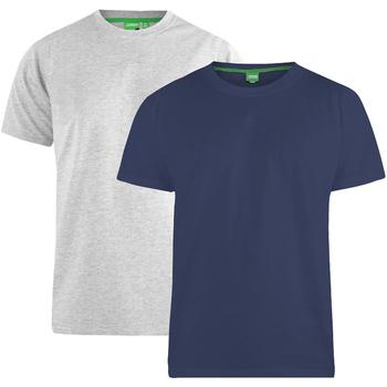 Abbigliamento Uomo T-shirt maniche corte Duke Fenton Blu