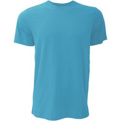Abbigliamento Uomo T-shirt maniche corte Bella + Canvas CA3001 Blu acqua screziato