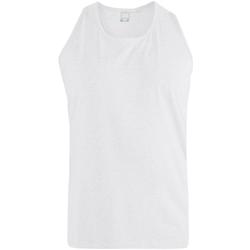 Abbigliamento Uomo Top / T-shirt senza maniche Duke  Bianco