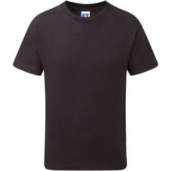 Abbigliamento Bambino T-shirt maniche corte Jerzees Schoolgear J155B Nero