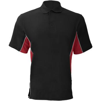 Abbigliamento Uomo Polo maniche corte Gamegear KK475 Nero/Rosso/Bianco