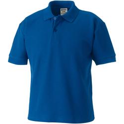 Abbigliamento Unisex bambino Polo maniche corte Jerzees Schoolgear 65/35 Blu reale acceso