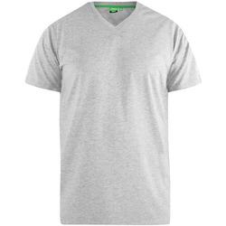Abbigliamento Uomo T-shirt maniche corte Duke  Grigio screziato