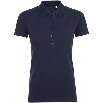 Abbigliamento Donna Polo maniche corte Sols Phoenix Blu