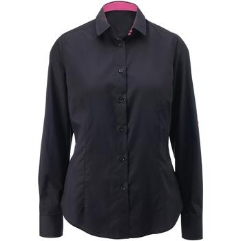 Abbigliamento Donna Camicie Alexandra AX060 Nero/Rosa