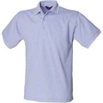 Abbigliamento Uomo Polo maniche corte Henbury HB400 Lavanda