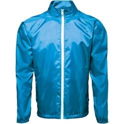 Abbigliamento Uomo giacca a vento 2786  Zaffiro/Bianco