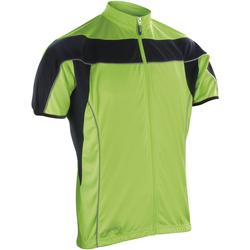 Abbigliamento Uomo Felpe in pile Spiro S188M Nero/Lime fluorescente