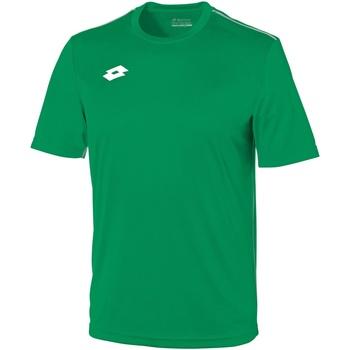 Abbigliamento Uomo T-shirt maniche corte Lotto LT026 Verde/Bianco