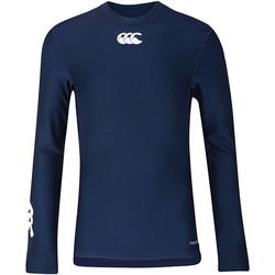Abbigliamento Unisex bambino T-shirts a maniche lunghe Canterbury CN360B Blu navy