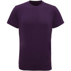 Abbigliamento Uomo T-shirt maniche corte Tridri TR010 Viola acceso