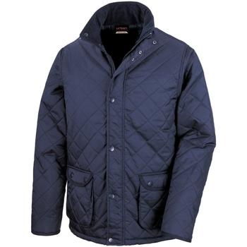 Abbigliamento Uomo Giubbotti Result Cheltenham Blu navy