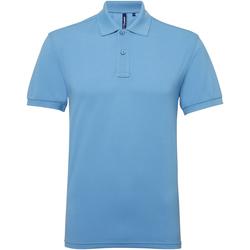 Abbigliamento Uomo Polo maniche corte Asquith & Fox AQ015 Azzurro