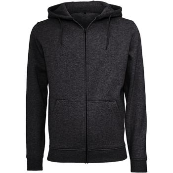 Abbigliamento Uomo Felpe Build Your Brand BY012 Nero