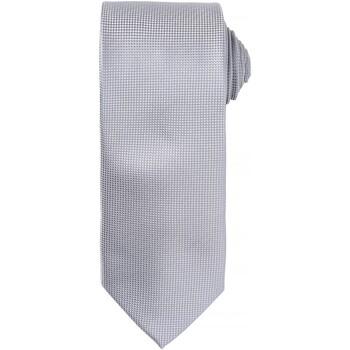 Abbigliamento Uomo Cravatte e accessori Premier Waffle Argento