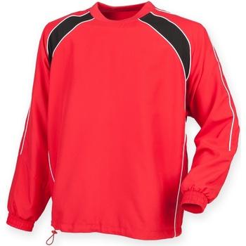 Abbigliamento Uomo Giacche sportive Finden & Hales LV845 Rosso/Nero/Bianco