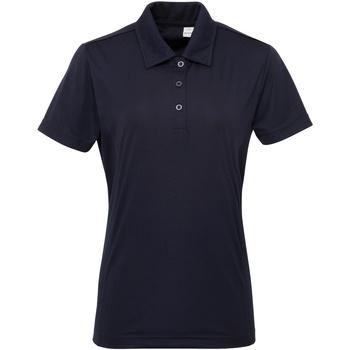 Abbigliamento Donna Polo maniche corte Tridri TR022 Blu Francia
